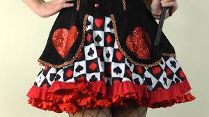 alice in wonderland evil queen of hearts halloween costume