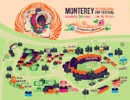Festival Map What To Know Before You Go Monterey International Pop Festival