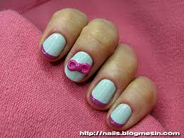 hello bows nails with hello bow nails by rabbit