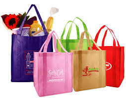 reusable grocery bags non woven box and wrap