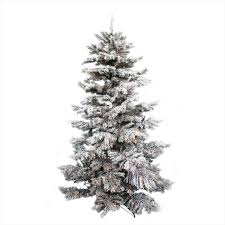 of prince frosted christmas tree flock king of ft classic flocked