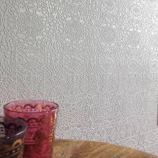 white glitter wallpaper ebay lace designer grey silver white glitter textured lace effect