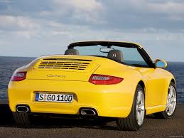 porsche yellow 2009 yellow porsche 911 carrera wallpapers