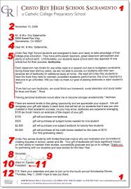 fundraising donation letter template 12 items to include in
