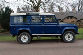 90s land rover blue 1984 110 defender import land rover defender to canada