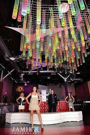 Disco Party Centerpieces Ideas by Slinky Decorations Fun Photo Idea For Kids Slinky Ceiling