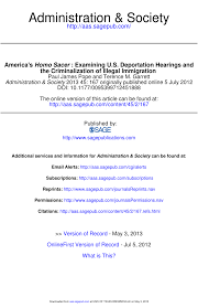 america u0027s homo sacer examining u s deportation hearings and the
