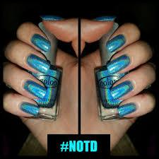 notd blue holographic ft color club popmodblog