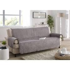 housse de canapé grise housse pour canapé 3 places concernant protège canapé 3 places gris