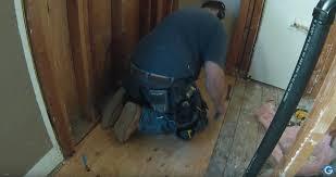 insulation and sub floor bathroom remodel 004 u2014 adam gabbert