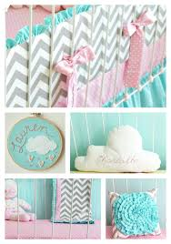 candy chevron baby bedding lottie da baby baby bedding