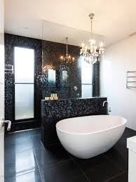 black tile bathroom ideas best black tile bathroom 77 for your bathroom tiles with black
