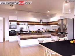 weisse hochglanz küche wohnideen küche modern weiß hochglanz walnuss holz design