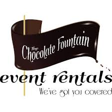 chocolate rentals the chocolate event rentals home