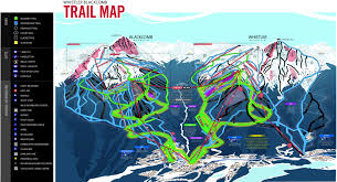 Map Of The World Bc by Official Whistler Bc Trail Map U2013 A Download From The Whistler Resource
