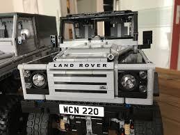 land rover lego lego moc 1872 landrover defender 90 x tech technic 2014