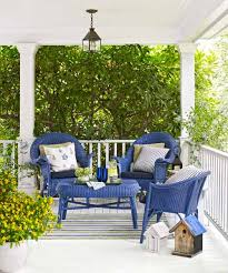 37 easy ways to upgrade your outdoor rooms painted wicker