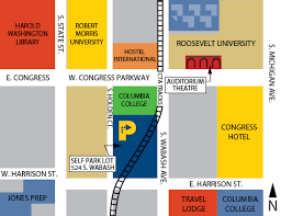 grant park chicago map loop auto parks loop auto parks