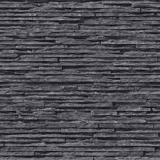 stone brick muriva bluff slate pattern stone brick vinyl embossed wallpaper