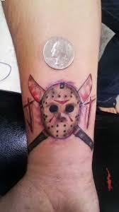 awesome like colored horror jason s mask on wrist
