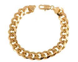 bracelet chain gold images 18k gold plated cuban curb link chain necklace or bracelet jpg