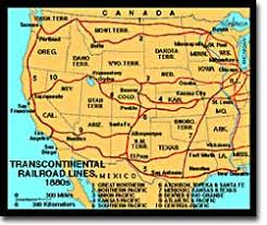 map us railroads 1860 binding the nation by rail ushistory org