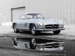 rare aluminum bodied mercedes benz 300sl gullwing to cross the