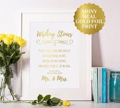 wedding wishing stones wedding stones sign wedding wishing stones sign wedding