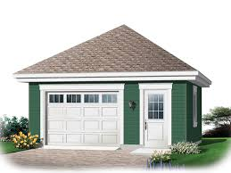 Hipped Roof House Plans Chevonne One Car Garage Plan 113d 6019 House Plans And More