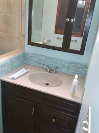 the onyx collection vanity top with tile backsplash superior home