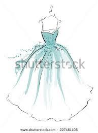 dress sketch stock images royalty free images u0026 vectors