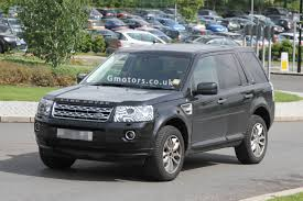 land rover small 2013 land rover freelander facelift spied