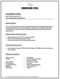 curriculum vitae format for freshers doc resume doc format 77 images job resume format word document
