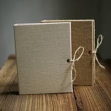 Burlap Photo Album Aliexpress Com Buy Free Shipping Creative Linen Burlap Diy Craft