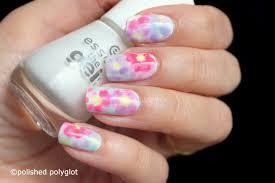 nail art floral watercolor nail design nail crazies united