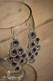 Wire Chandelier Earrings 1 De Cor U0027s Handmades Malaysia Handmade Jewelry Wire Jewelry