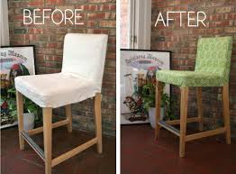 bar chair covers bar stool slip cover whipstitch