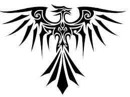 eagle tattoo clipart tribal eagle tattoo three isolated stock photo by nobacks com