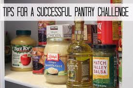 Challenge Tips For A Successful Pantry Challenge