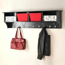 wall ideas wall mounted coat rack with hooks overview wall