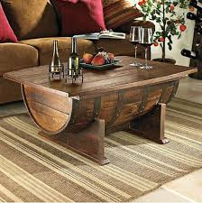 Making Wooden End Table by Best 25 Wine Barrel Table Ideas On Pinterest Whiskey Barrel
