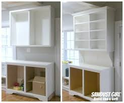 How To Build A Display Cabinet by How To Install Crown Moulding On Cabinets And Built Ins Sawdust