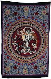 Grateful Dead Curtains Trippystore Com Grateful Dead Tapestries And Dead Wall Hangings