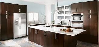 Kitchen Cabinets Images Contemporary Blythe Cherry Chocolate Cabinetry From Thomasville