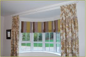 curtains for a bay window home design ideas