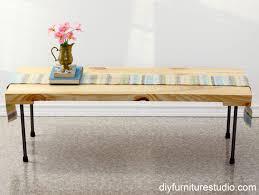 industrial modern coffee table rustic modern coffee table or bench with plumbing pipe legs diy