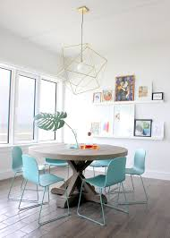 light blue dining room chairs modern white dining room with aqua