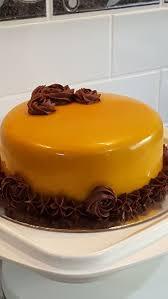 caramel mirror glaze cakecentral com