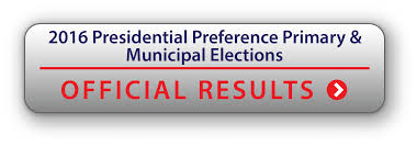 2016 Presidential Election Map 2016 Presidential Preference Primary And Municipal Elections