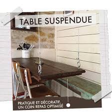 table de cuisine pour petit espace table suspendue jpg